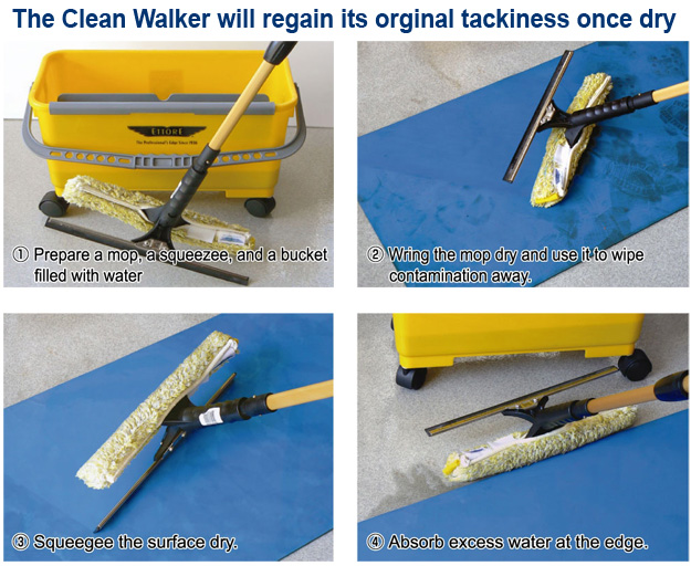 How to clean the CW-900B Clean Walker