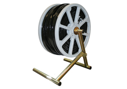 CR1000 Reusable Cable Reel with Folding A-Frame Stand