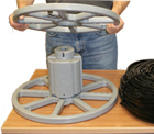 U-1000 Cable Reel Loading Step 1