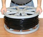 U-1000 Cable Reel Loading Step 3