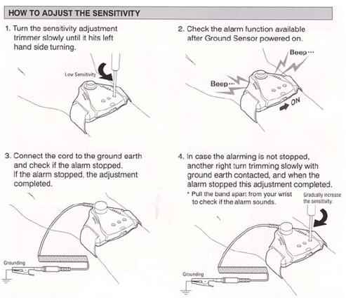 How to Adjust the Ground Sensitivity
