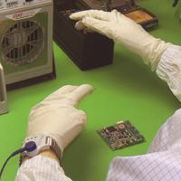 EPS-03 Anti-Static Wrist Strap in Use